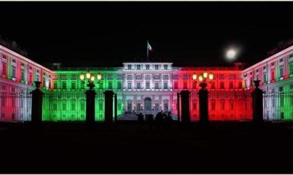 L'Italia ha vinto gli Europei e la Villa Reale si è tinta di Tricolore