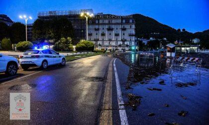 Ancora maltempo in Lombardia: esonda il lago di Como, a Lecco evacuato campeggio a rischio piena