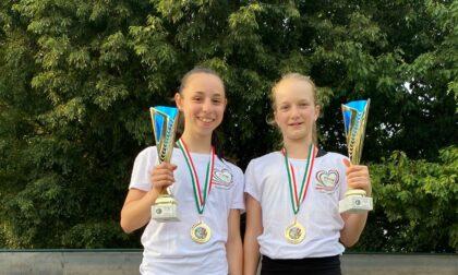 Due campionesse italiane nello Skating