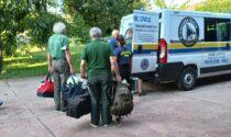 Emergenza incendi in Calabria, sul posto anche la Protezione Civile delle Groane
