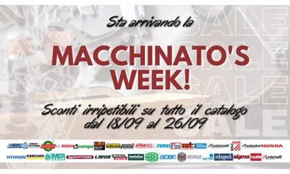 Dal 19 al 26 settembre Macchinato's Week, offerte su attrezzi da lavoro e prodotti professionali per officine