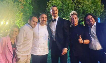 Nozze vip a due passi da Besana: tra gli invitati Ibrahimovic e tanti calciatori famosi