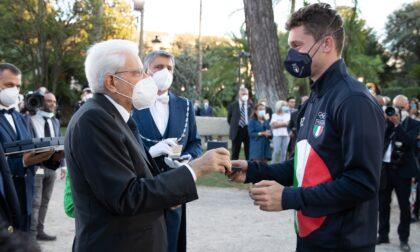 Mattarella premia Filippo Tortu: Ci avete fatto emozionare!