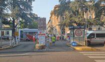 Centro vaccinale mobile in Piazza Carducci per il MonzaFuoriGP 2021