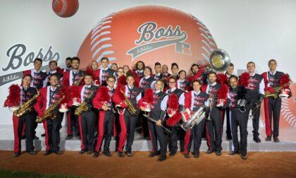 Triuggio Marching Band sfila per Hugo Boss