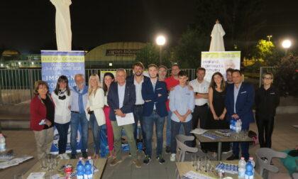Elezioni comunali, comizio di Salvini a Biassono