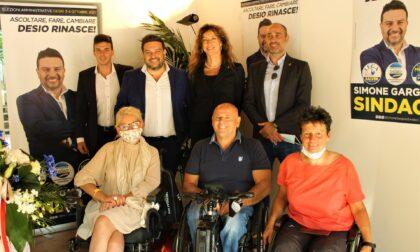 Lega: il ministro per le disabilità Erika Stefani a Desio per sostenere Simone Gargiulo