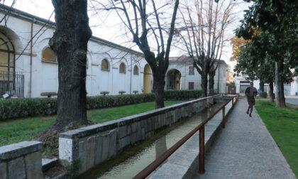 L'acqua tornerà a scorrere nell'antica roggia di Villa Cusani Traversi Tittoni