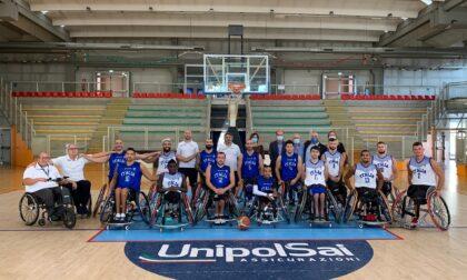 La Nazionale Italiana Fipic si allena al PalaMeda, oggi in visita il sindaco