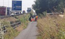 Incidente in Valassina: è morto il giovane caduto ieri in moto