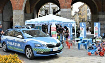 Polizia di Stato impegnata per promuovere la sicurezza stradale in occasione del Gran Premio