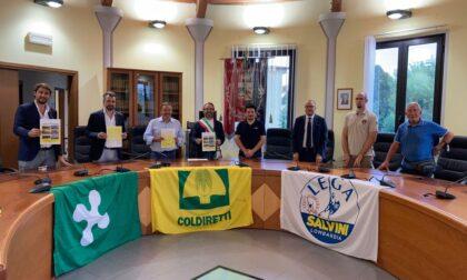 L'onorevole Capitanio sottoscrive la petizione di Coldiretti Giovani Impresa