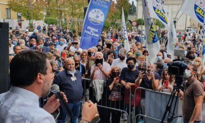 Matteo Salvini a Desio per sostenere il candidato sindaco Gargiulo
