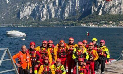 I Vigili del fuoco si formano per il soccorso in ambiente acquatico