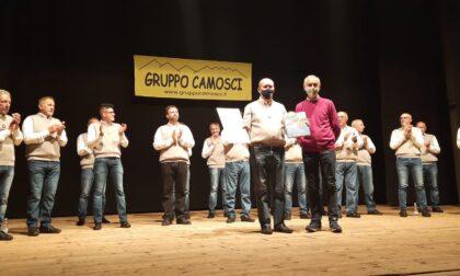 Il Gruppo Camosci celebra i cinquant'anni e omaggia i suoi soci