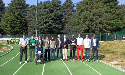Inaugurata la nuova pista di atletica di Giussano