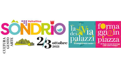 """A Sondrio """"Formaggi in Piazza & La via dei Palazzi"""" il 2 e 3 ottobre per un weekend tutto da vivere"""