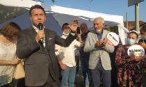 L'ex premier a Verano lancia la candidatura di Maurizio Borgonovo