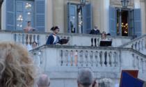 Napoleone torna in Villa Reale