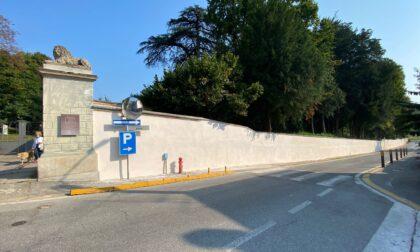 Proseguono i lavori di riqualificazione del Parco di Villa Scaccabarozzi a Usmate Velate