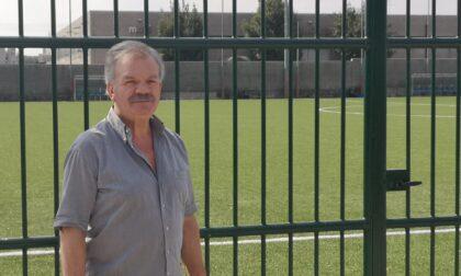 Il campo di calcio assegnato per i prossimi cinque anni