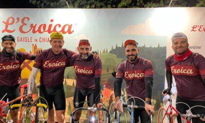 """Oltre cento chilometri in sella a una bici d'epoca, l'avventura """"Eroica"""" di due concorezzesi"""