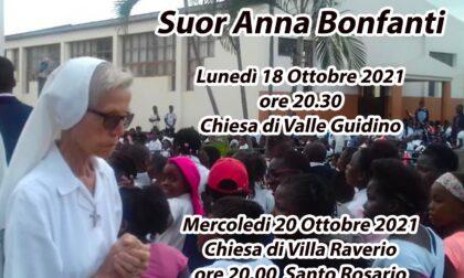 Addio a suor Anna: a Valle Guidino e Villa Raverio due Messe per ricordare la missionaria