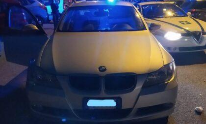 La Polizia locale sequestra un'automobile dopo un inseguimento