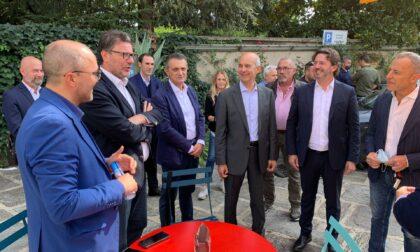 Il ministro Giorgetti a Vimercate per sostenere Sala e la Lega