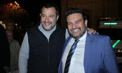 Matteo Salvini a Seveso e a Desio per tirare la volata ai candidati prima del ballottaggio