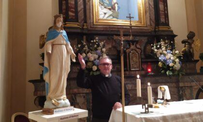 A Muggiò la statua della Beata Vergine di Batnaya profanata dall'Isis