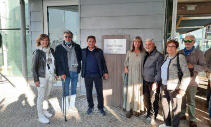 La nuova sala consiliare intitolata a Pierino Romanò