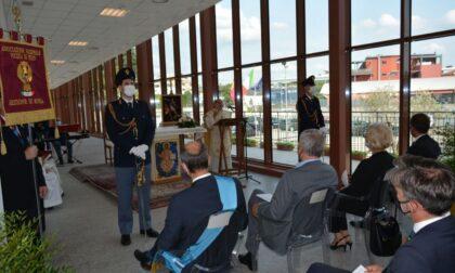 La Polizia di Stato accoglie Monsignor Delpini