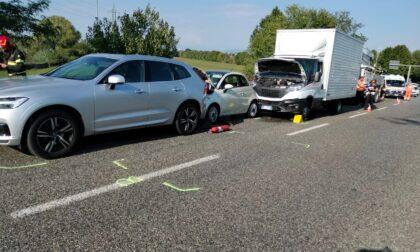 Traffico in tilt per un incidente in viale Fermi a Monza