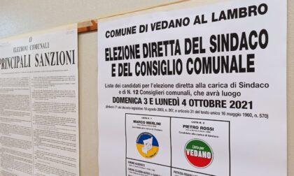 Elezioni a Vedano: alle 19 affluenza al 35,64%