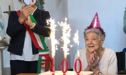 Duplice festa a Trezzo sull'Adda per una neocentenaria