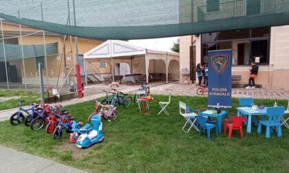 Domenica di educazione stradale per i bambini a Bernareggio