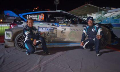 Rally Legend, bel risultato per Fabrizio Fontana