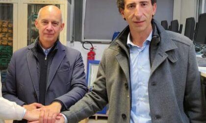 Il candidato sindaco del centrodestra incontra l'imprenditore condannato per bancarotta