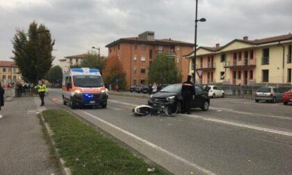 Gravissimo incidente a Trezzo: atterra l'elisoccorso