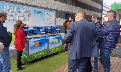 Delegazione spagnola visita la sede di Gelsia Ambiente