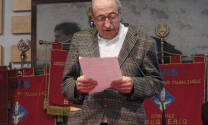 Un altro lutto per l'Avis di Brugherio: addio a Franco Sangalli