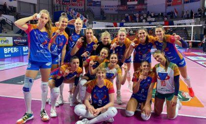 Le ragazze del Vero Volley dominano Bergamo